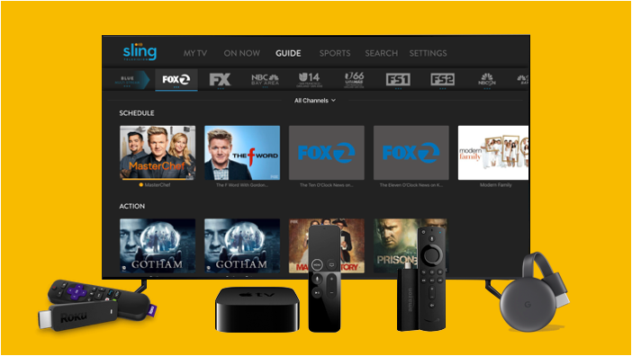 Sling TV supported devices