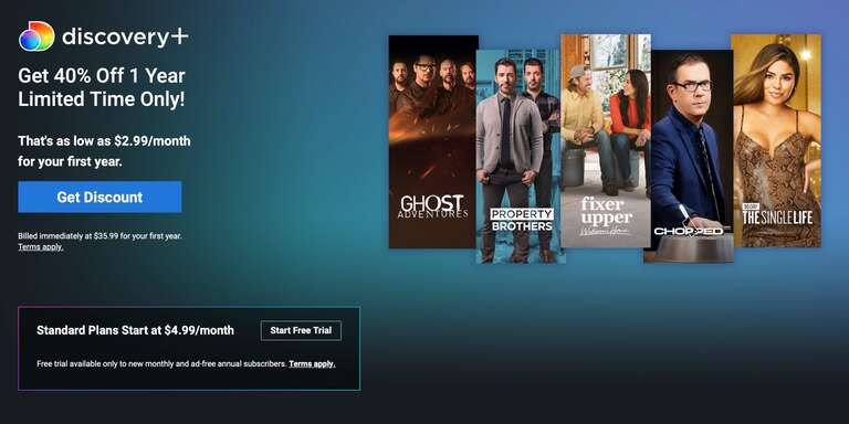 DEAL ALERT: Get Discovery Plus For Just $8.8 a Month (8% OFF