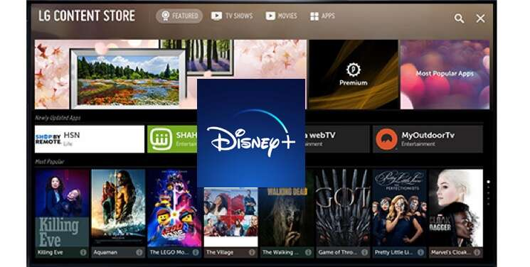How To Download And Sign Up For Disney Plus On Lg Smart Tv The Streamable
