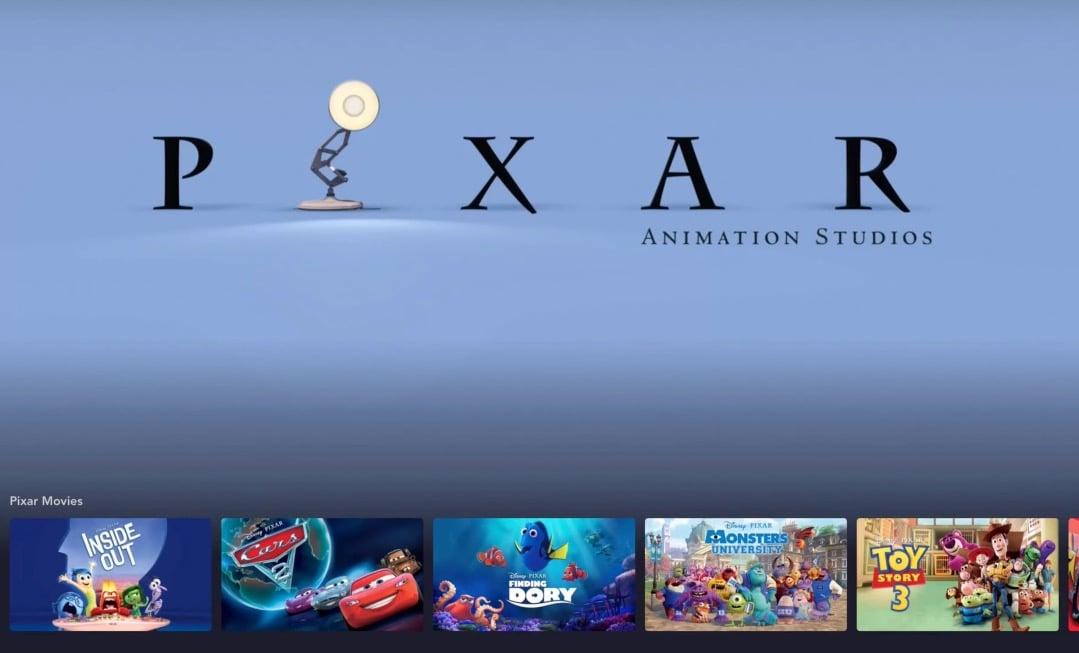 Every Pixar Movie Available on Disney Plus